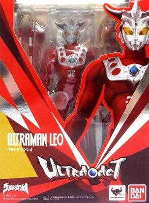 日本正版 萬代 ULTRA-ACT 超人力霸王 雷歐 可動 模型 公仔 日本代購