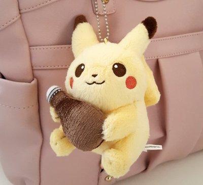 *Miki日本小舖*日本超人氣㊣版神奇寶貝 寶可夢 皮卡丘造型玩偶珠鍊吊飾/掛飾
