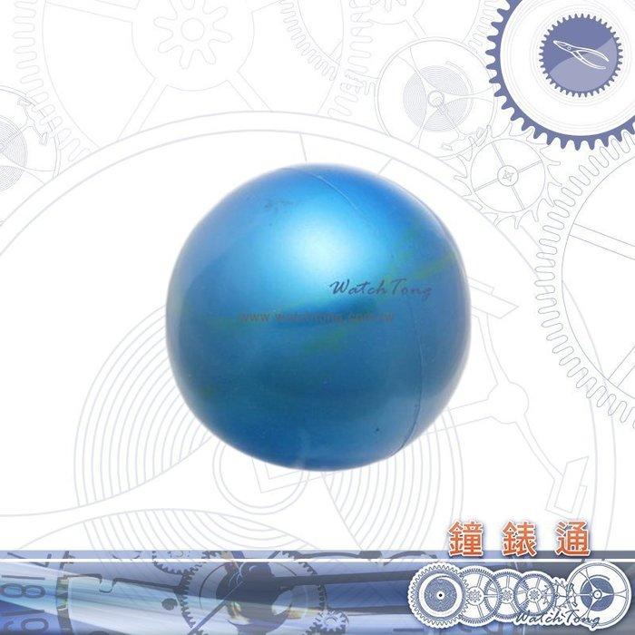 【鐘錶通】07A.5001 藍色開錶球_店家推薦/摩擦旋轉式開啟錶後蓋├鐘錶換電池工具/開錶工具/手錶維修┤