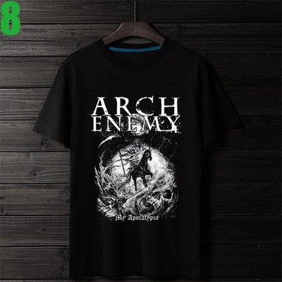 Arch Enemy【罪惡之神】短袖死亡金屬搖滾樂團T恤(男生版.女生版皆有) 新款上市購買多件多優惠!【賣場三】