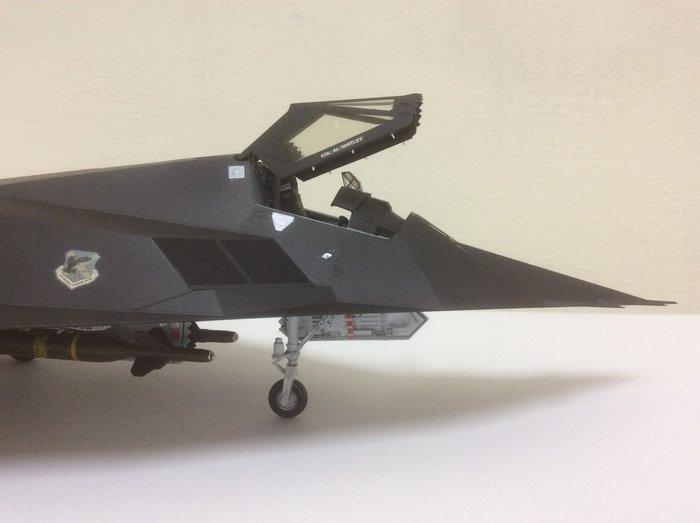 F117-夜鷹隱形戰鬥機