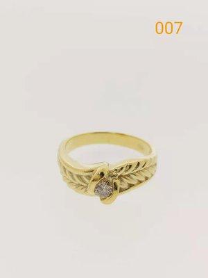 【益成當舖】流當品007 (已售出) K金鑽石戒指 真K真鑽 鑽石約10分 特價出清 一件5000元 成本出清買到賺到