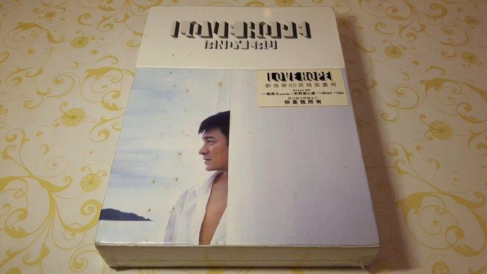 [影音小舖] 劉德華 LOVE HOPE CD+DVD 附60頁精美畫冊 全新未拆封