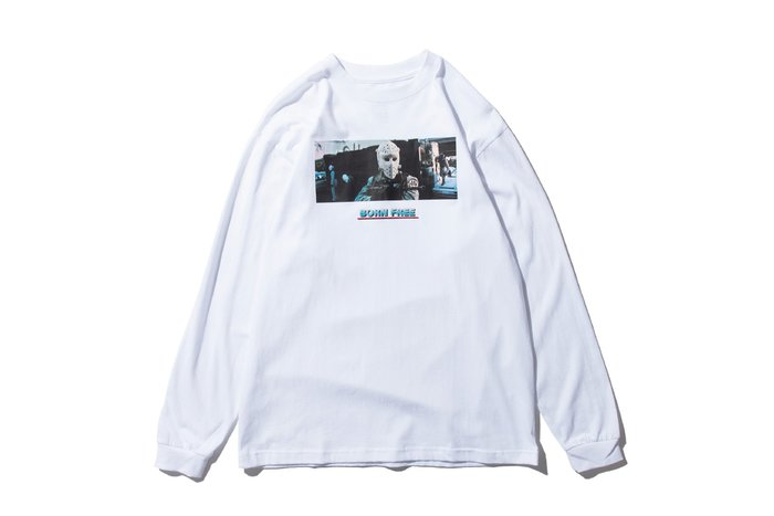 { POISON } DeMarcoLab DML x BORN FREE L/S TEE 瑞典首席獨立電子音樂廠牌聯名