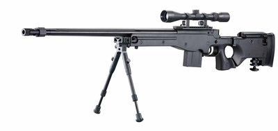 JHS((金和勝槍店))免運費 WELL 含狙擊鏡.腳架 AW338 空氣狙擊槍 MB08 6603
