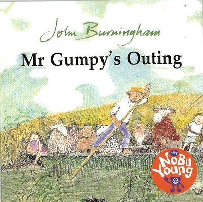 *小貝比的家*MR. GUMPY'S OUTING (和甘伯伯去遊河) /單CD/3~6歲/延伸閱讀