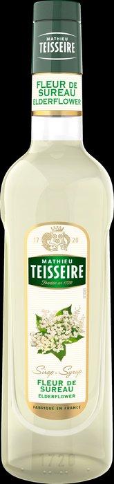 Teisseire 糖漿果露-接骨木風味  法國頂級天然糖漿 700ml