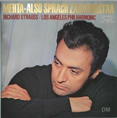 黑膠唱片 Zubin Mehta - Strauss Also Sprach Zarathustra