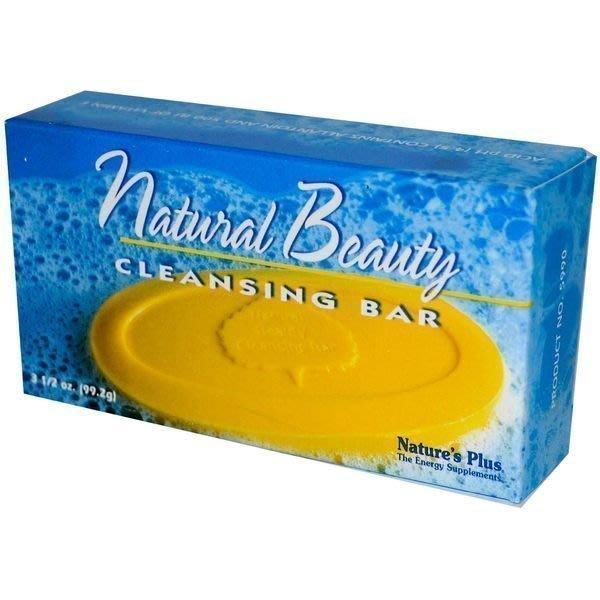 【健康小舖】現貨~ 美國 Natural Beauty Cleansing Bar 酸性皂 (99.2 g) Nature's plus