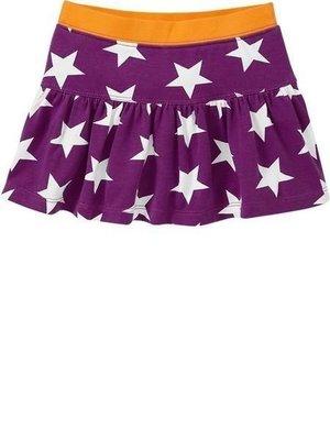 【Nichole's歐美進口優質童裝】Old navy 女童亮麗紫星星可愛短裙*另有Carter's/OshKosh