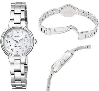 日本正版 CITIZEN 星辰 REGUNO KP1-012-93 女錶 手錶 太陽能充電 日本代購