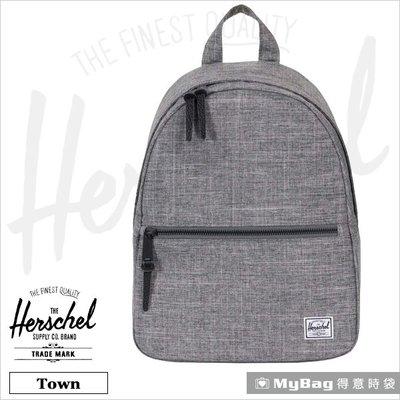 Herschel 後背包 灰色 質感小清新 女用後背包 Town-919 得意時袋