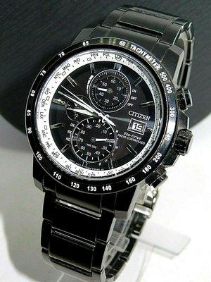 超低價CITIZEN星辰光動能5局三眼計時電波表電波時計全黑全鋼飛行錶潛水錶卡西歐SEIKO精工ORIS