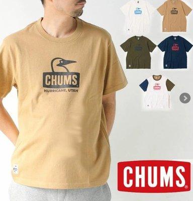 小阿姨shop CHUMS CHUMS Booby Face T 男式CH01-1834