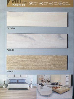美的磚家~FLOOR TEC塗佈氧化鋁超耐磨塑膠地磚塑膠地板~質感優防焰~15cm*90cm*3m/m每坪1100元