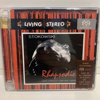 【超音樂】CD/SACD/Living Stereo- Rhapsodies/Stokowski