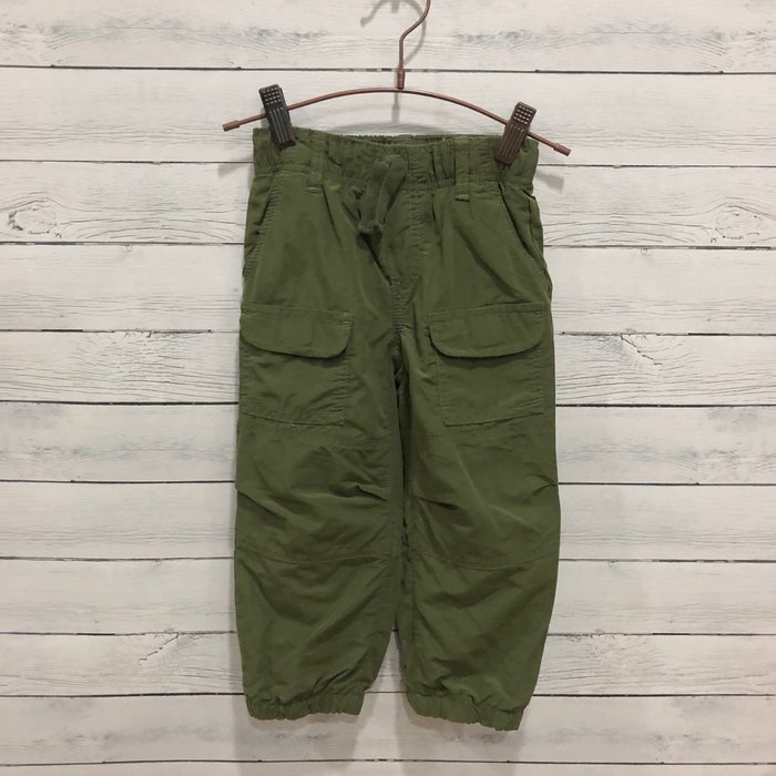 Maple麋鹿小舖 美國購買童裝品牌 GYMBOREE 男童深綠色縮口長褲 * ( 現貨2T )