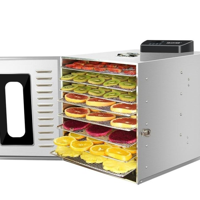 樂創水果烘干機 食品家用小型食物果蔬肉類風干機干果脫水機商用