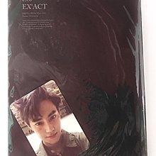 EXO 三輯 EX'ACT 專輯 SUHO小卡 三輯 monster韓文版