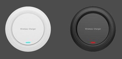 手機無線充10W7.5W超薄防滑適用蘋果Iphone等QI快速無線充電器