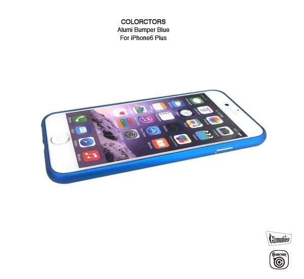 GOODFORIT / 日本COLORCTORS iPhone6輕量化鋁製邊框保護殼/紅、藍