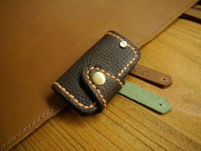 (KH手工皮革)牛皮量身訂製NISSAN JUKE X-TRAIL鑰匙皮套.免費燙字配色可選全家7-11取件