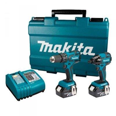 附發票Makita牧田DLX2007X 18V充電無刷起子.震動電鑽雙主機.衝擊電鑽衝擊起子【AA004】來電14500