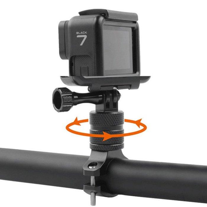 【附發票】 GOPRO 自行車360度旋轉支架 副廠 GOPRO 大疆 小米 小蟻