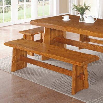 【在地人傢俱】19 歡樂購-卡拉全實木風化紋路中板椅/餐椅/休閒椅-DIY KH290-4