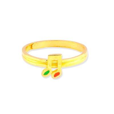 【JHT 金宏總珠寶/GIA鑽石】0.73錢 音符黃金戒指 (請詳閱商品描述)