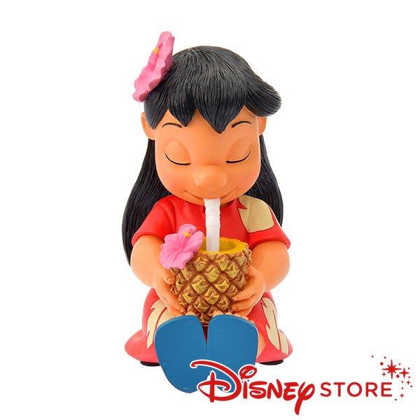 41+現貨不必等 正版 迪士尼專賣店 Hawaiian Stitch 史迪奇 莉蘿 夏威夷風 搖頭 公仔 擺飾 附盒