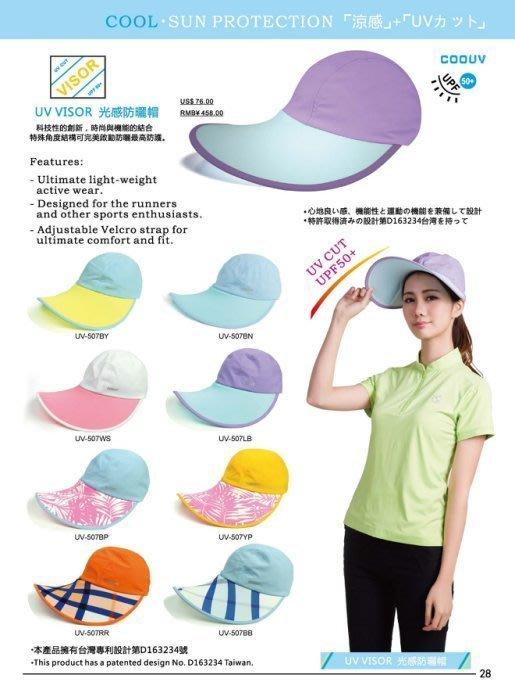 藍鯨高爾夫 MEGA UV-VISOR光感防曬帽