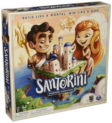 【正版桌遊。送牌套】Santorini 聖托里尼-英文版《桌遊殿》