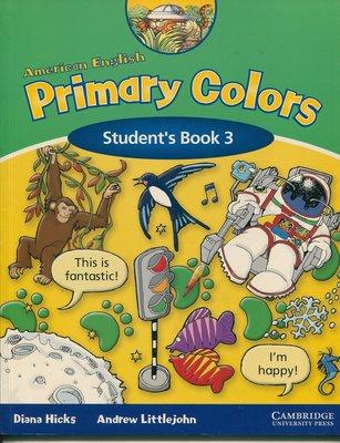 幼兒美語AMERICAN ENGLISH Primary Colors 3 (2本書 + 2片CD)