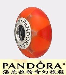潘朵拉絕版品{{潘朵拉的奇幻旅程}} PANDORA Captivating red hot 火熱誘人 790639