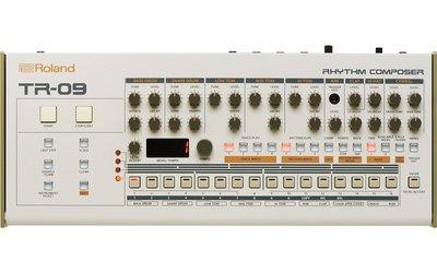造韻樂器音響- JU-MUSIC - 全新 Roland TR-09 Rhythm Composer 鼓機
