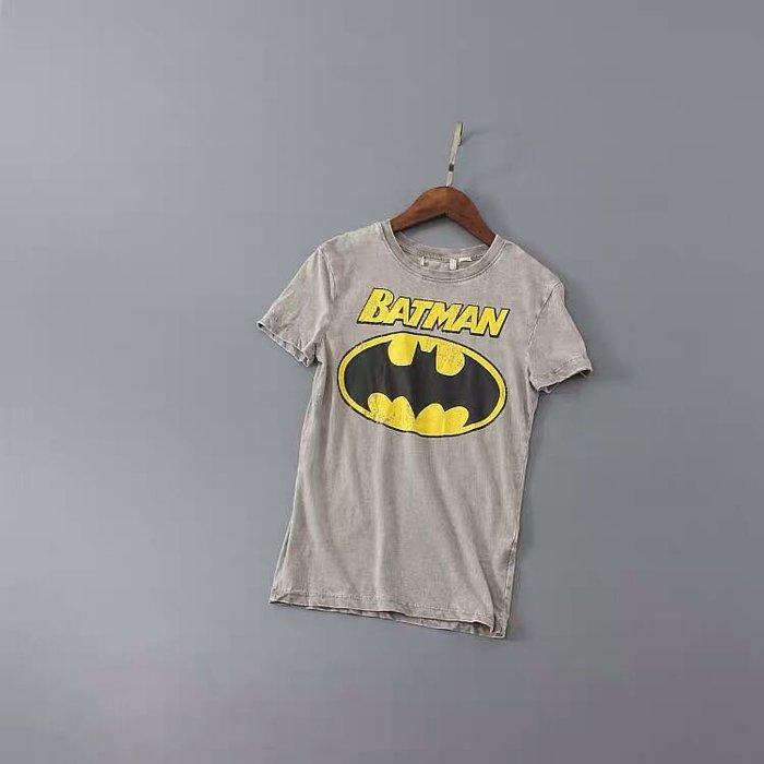 H&M夏季新款男童純棉水洗圖案印花短袖做舊短袖T恤 柔軟上衣 質料超軟 現貨2件  無吊牌