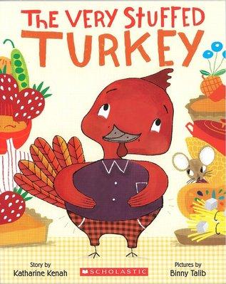 *小貝比的家*THE VERY STUFFED TURKEY/平裝/3~6歲/感恩節