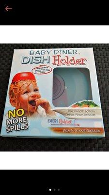幼兒強力餐具吸盤架baby dinner dish holder