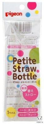 ✪胖達屋日貨✪日本境內版 阿卡將 Pigeon 貝親 把手可折疊 巧巧莫哭杯 喝水學習杯 150ml 專用替換吸管一入