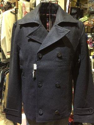 [變身館日本服飾]~Suggestion~西裝~排扣~毛料~海軍釦~外套~立領~日本購入~全新現品~M~黑