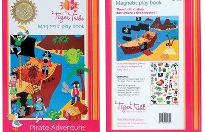 【小糖雜貨舖】澳洲 Tiger Tribe 角色扮演 磁貼 遊戲書 - 海盜歷險