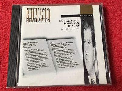 拉赫曼尼諾夫/舒曼/布拉姆斯/吉利爾斯/Revelation/英國版