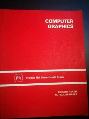 原文電腦書 Computer Graphics 彩色印刷平裝