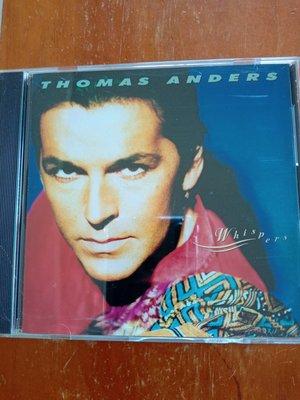 THOMAS ANDERS 湯瑪斯安德斯  whispers CD