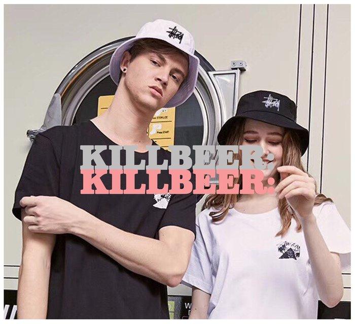 KillBeer:OUTLET代購✈✈STUSSY經典刺繡百搭雙色遮陽漁夫帽061721
