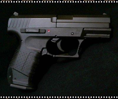 【牟根古董-170325】全金屬 合金擬真 HK USP 4.5mm 裝飾槍(絕版品)