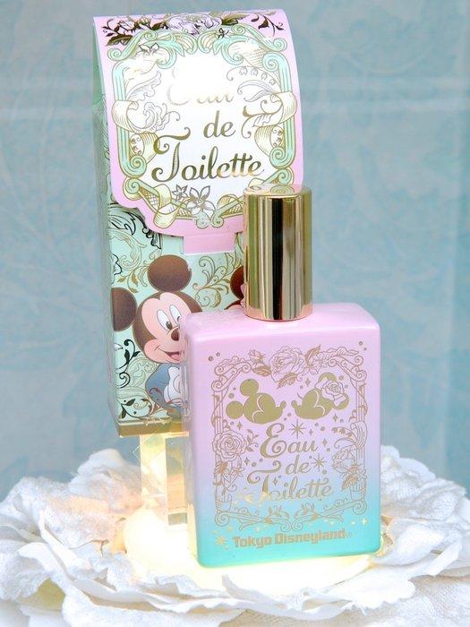 Ariel's Wish-日本東京迪士尼米奇米妮婚禮小物結婚典禮花園漸層玻璃瓶香水噴霧香氛伴娘禮情人節禮物-日本製-現貨