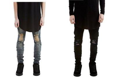 ►FINAL SALE 最後出清◄ 膝蓋破壞牛仔褲 (非 balmain represent slp dior)