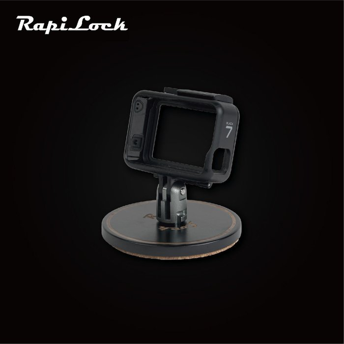 RapiLock Base 磁力杯墊 相機底座 GOPRO全機種適用 黑/銀 台南PQS
